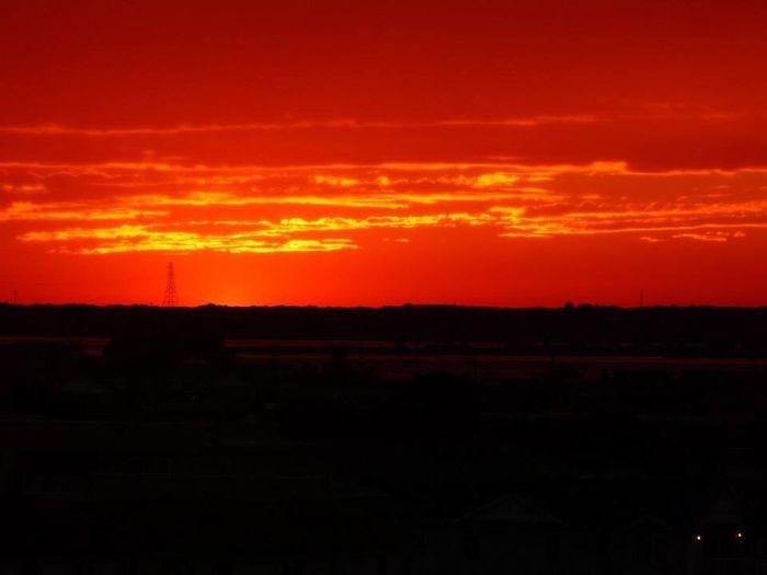 Sunset Orange Color No People Sky Nature