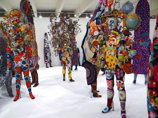 Exposition pleine de ...trucs colorés qui brillent et qui qui sont trop cool ? Expo Contemporary Art Textile Art Lille3000