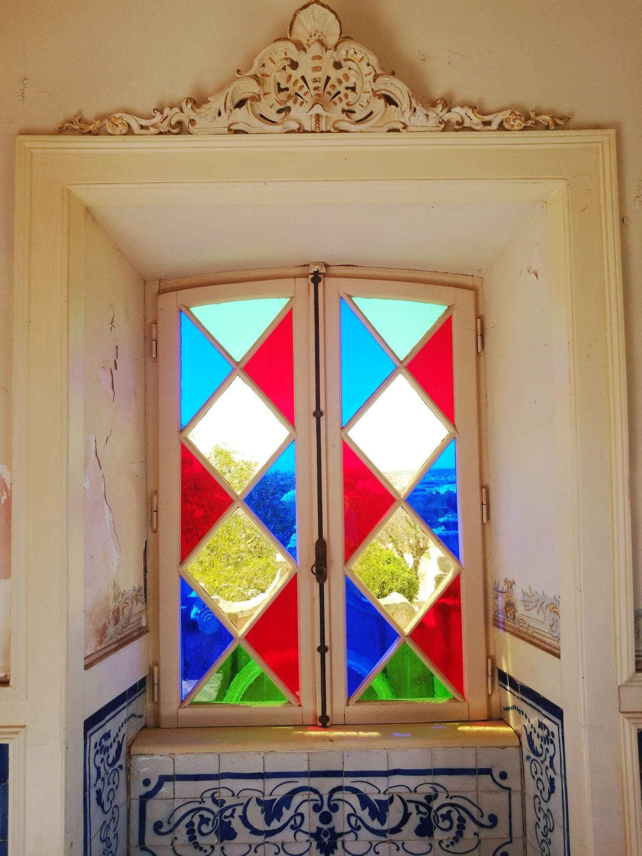 Window Architecture Built Structure Multi Colored Travel Destinations Indoors  Pattern No People Day Building Exterior Close-up Colors Of Windows Colors