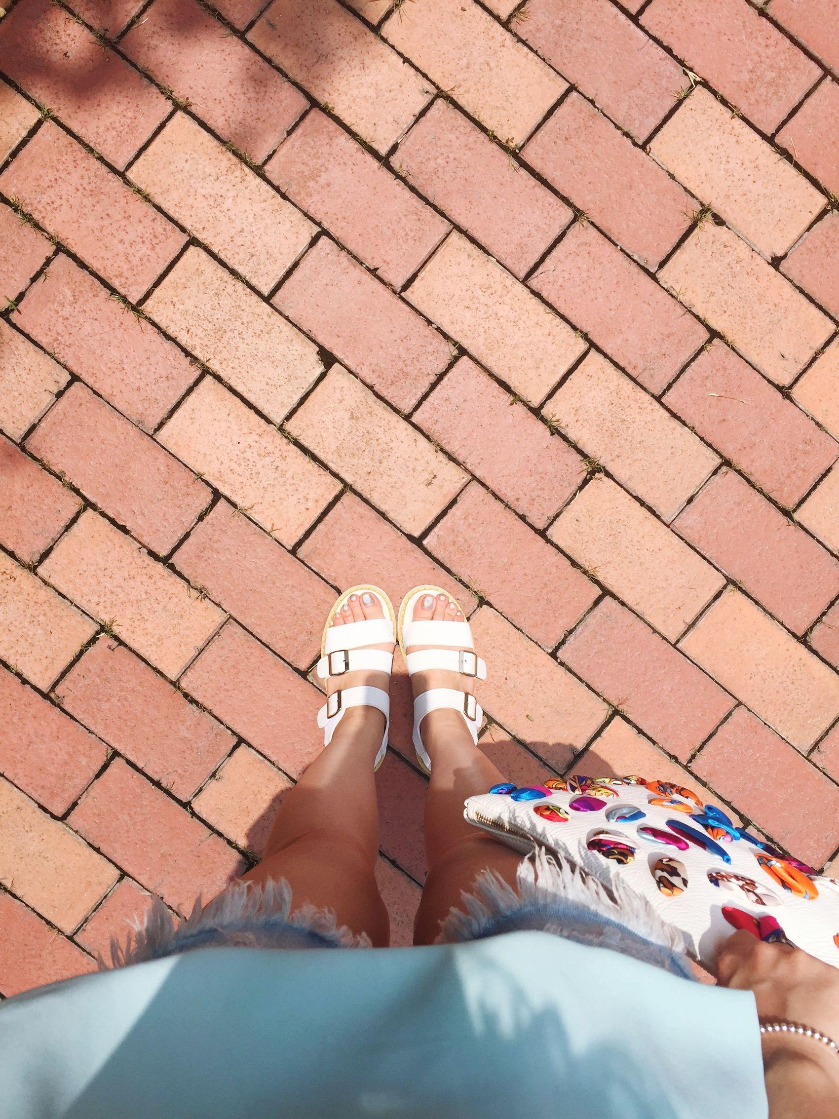 Summer Look Clutch White