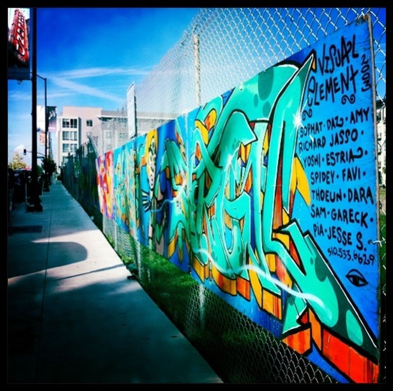 street art at Fox Square Public Park Street Art