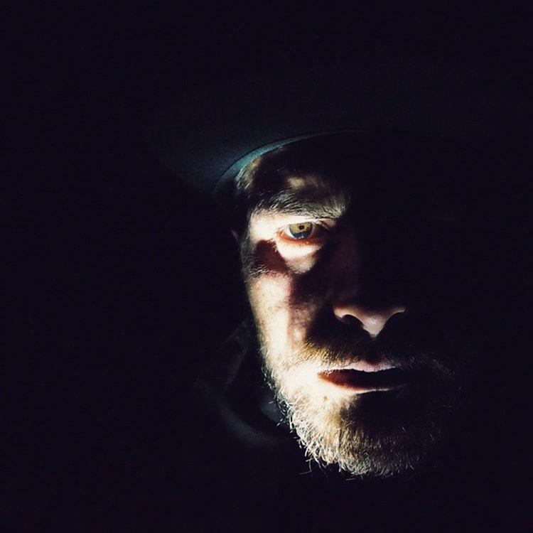 Rise from the Darkness. Selfportrait Darkness Iluminate Illumination Face Beard Beardedwarrior Beardbrothers Beardedvillians Bearded Beardcrafters Beardedgentleman Night Eyes Strength Will Vscocam Barba