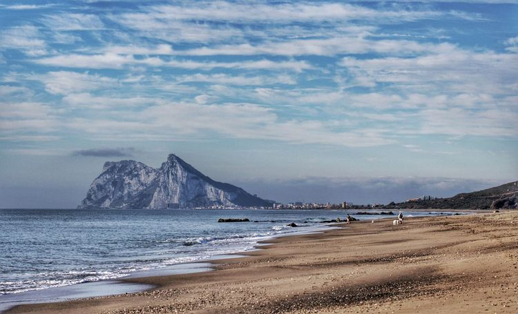 Beach Beach Scene  Beauty In Nature Cloud Cloud - Sky Coastline Gibraltar Gibraltar And Beach Gibraltar And Cloudy Sky Gibraltar And Sea Gibraltar Landscape Gibraltar Rock Gibraltarview Idyllic Incidental People Peaceful Beach Scene Sand Scenics Sea Shore Sky Tranquil Scene Tranquility View Of Gibraltar Water