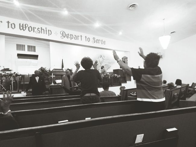 Hand Raised Celebration Worship Church Revival People We Owe You Praise Crying Holy