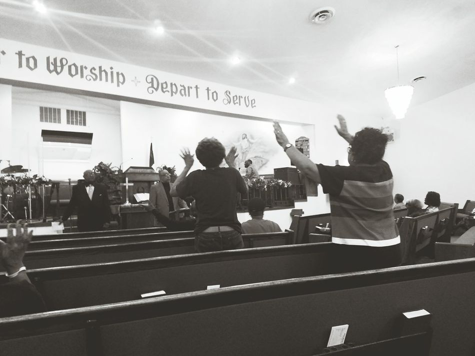 Hand Raised Celebration Worship Church Revival People We Owe You Praise Crying Holy