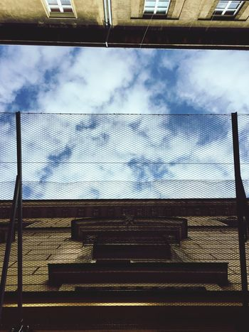 Sky Cloud - Sky Low Angle View No People Day Outdoors Built Structure Architecture Close-up