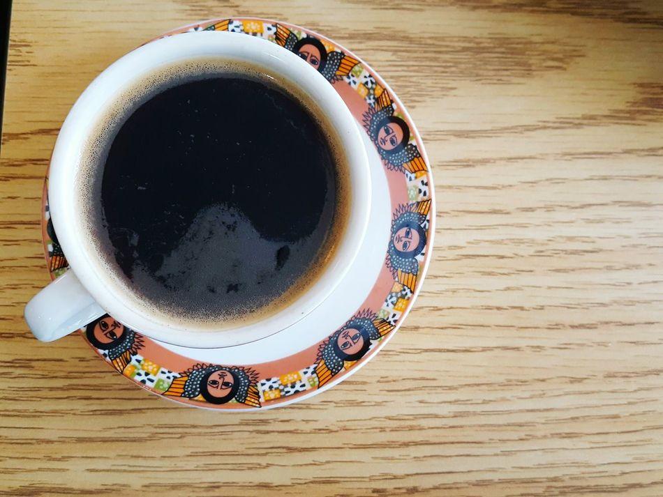 Ethiopian Blackcoffeeonly Cupandsaucer Eyeemphotography