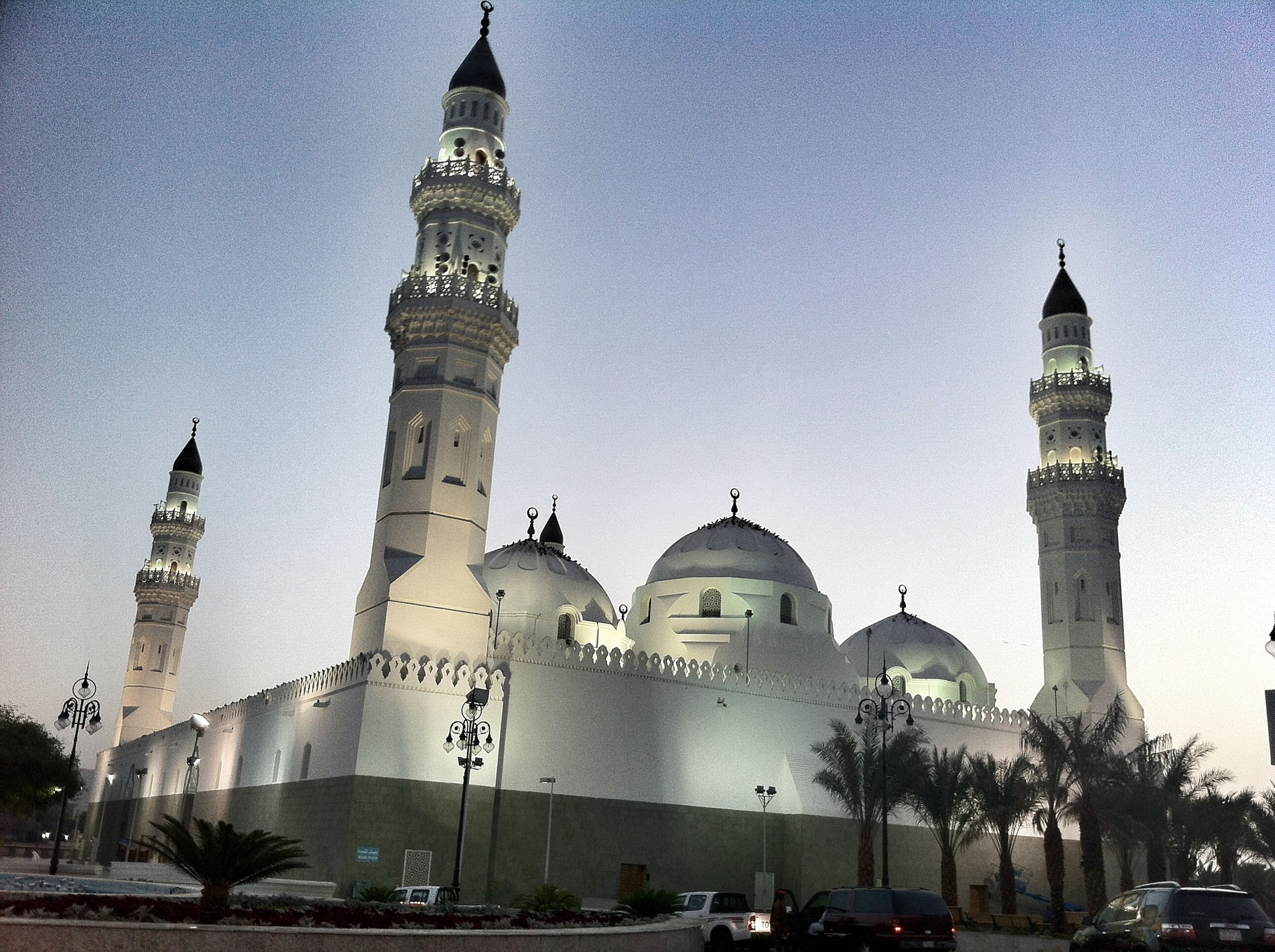 architecture, building exterior, built structure, dome, religion, place of worship, mosque, islam, famous place, spirituality, church, travel destinations, clear sky, tourism, travel, international landmark, tower, blue