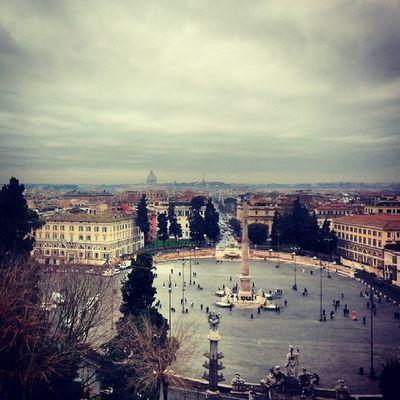 Roma Capitale Piazza Veduta romantici storia