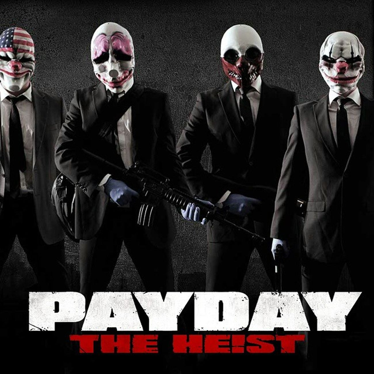 Why do we got to wear suits when robbing a bank? Dallas Hoxton Wolf Payday Theheist