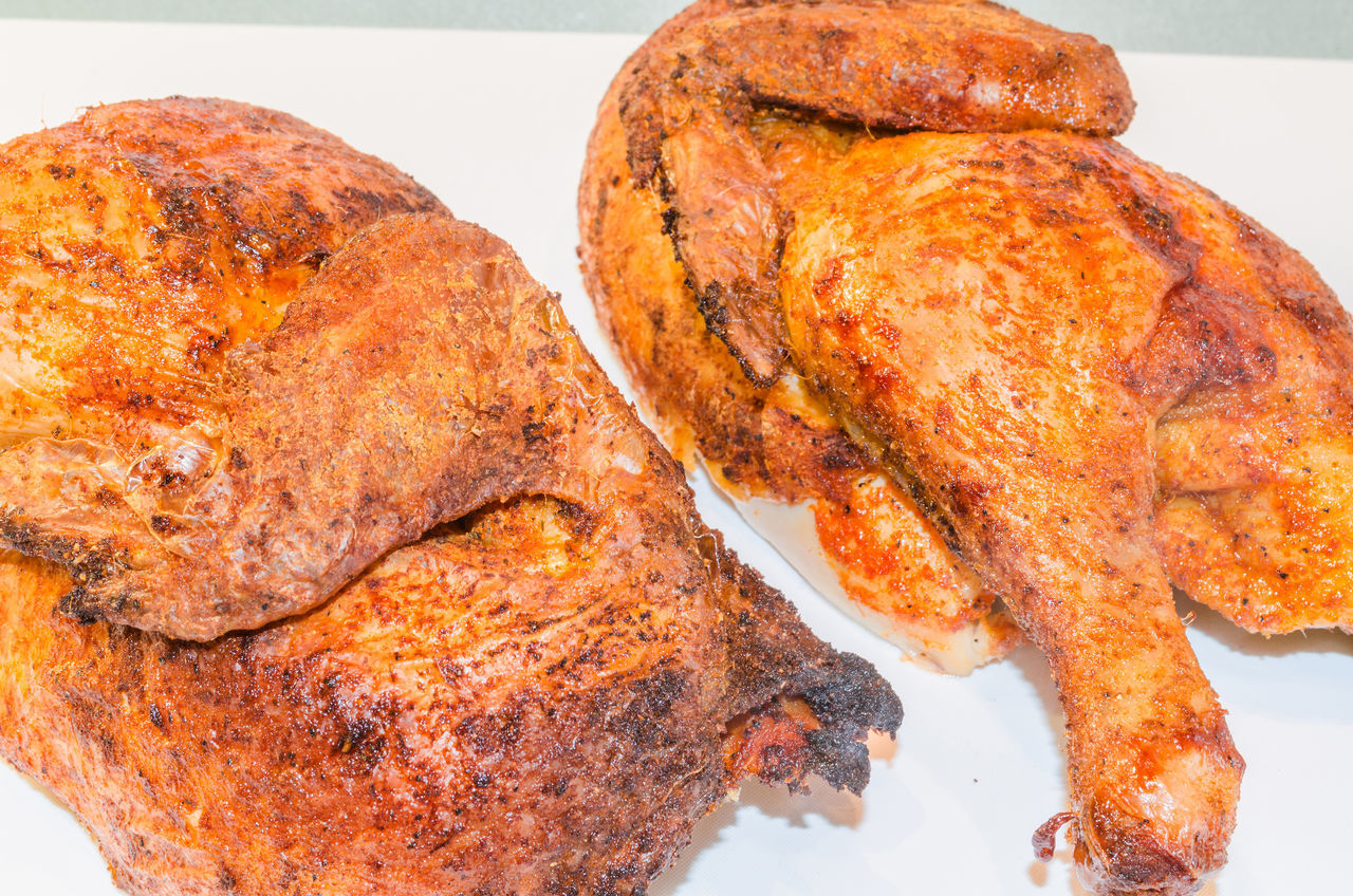 Close-Up Of Roasted Chicken