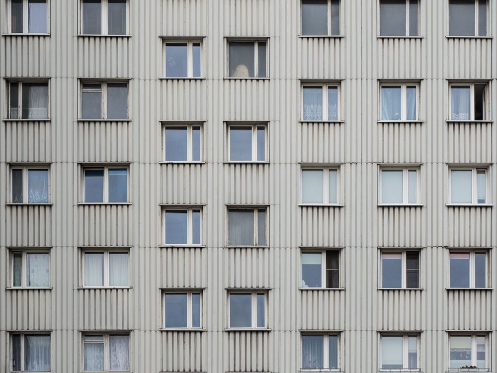 Architecture Backgrounds Building Exterior Built Structure City Day Full Frame Grayday Monotony No People Outdoors Pattern Serial Window Cut And Paste