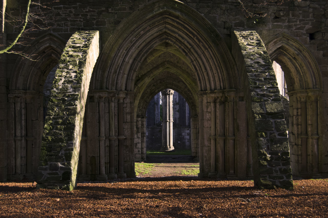Religion Spirituality Built Structure Place Of Worship No People Architecture Arch Non-urban Scene Margam Park Architecture Gothic
