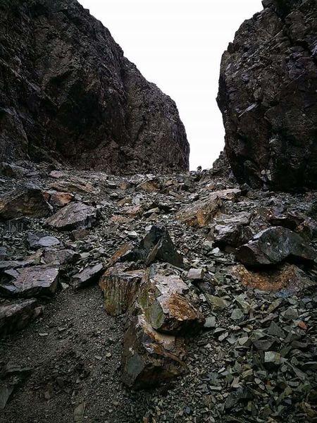 The Way Up Stone Chute Sgurr Alisdair Timeless Mountain Scenery Isle Of Skye Scotland U.K. Landscape #Nature #photography