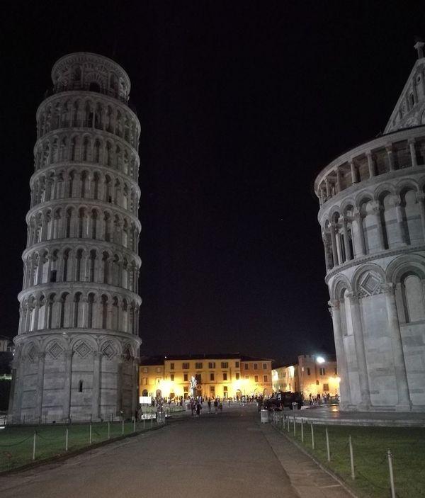 Tuscany Tourist Architecture Pisa TorrePendente TorreDiPisa Pisatower Tower Quattropassiincentro Nightinpisa Beautifulitaly Monument History