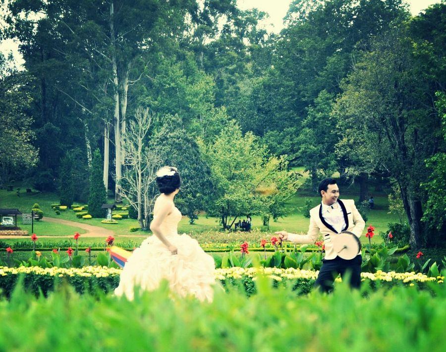 Secret Garden Botanical Garden At Pyin Oo Lwin City  Preweddingshoot Pyinoolwin Happy Couple Beautiful Day Enjoying Life Snapshots Of Life Lovelovelove∞ Green Green Green!