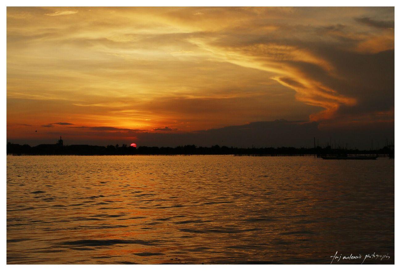 Pamarawan Sunset Sunset Pamarawan Malolos Sea And Sky