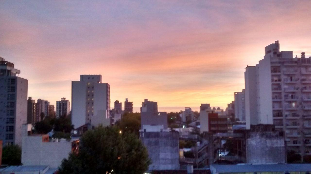Calma despues de la tormenta Lindo Dia Afuera 2016 Home Aburrida ❤✌ Simple Photography Sky Clouds Atardeceres EyeEm Nature Lover Sunset