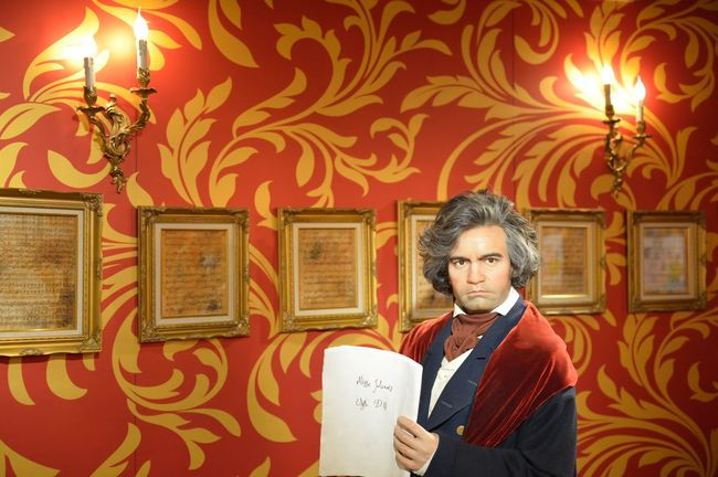 Ludwig van Beethove Art Art And Craft Arts Culture And Entertainment Auto Post Production Filter Composition Creativity Cultures Design Fashion Front View Home Interior Indoors  Lifestyles Madame Tussauds Music One Person Pattern Perspective Portrait Sitting Wall Wax Dolls Wax Museum Young Adult