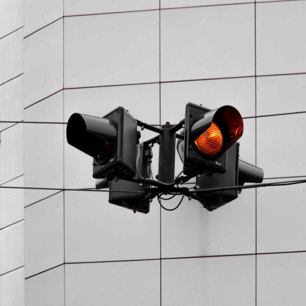 Blinkin' Orange Cityexplorer Close-up Day Illuminated No People Red Light Signal Technology Urban Geometry Urban Landscape The City Light Minimalz Art Is Everywhere Premium Collection