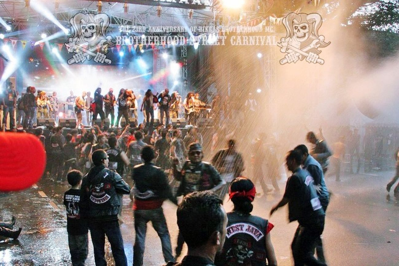 Together Street Photography Harley Davidson Classic Motorcycle Club Brotherhood Forever Forever Brotherhood 2662 Bikers Brotherhood Mc Family Great Atmosphere INDONESIA Brotherhood Street Carnival