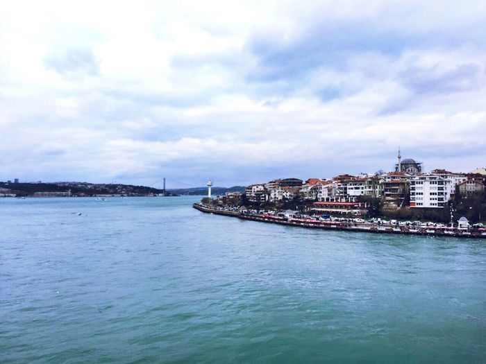 Sky Water Waterfront City Cloud - Sky Cityscape Nature Bosphorus Istanbul