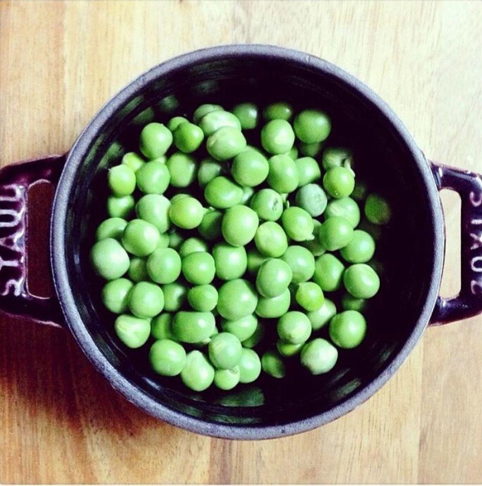 A Taste Of Life Beans STAUB Green 豆 ストウブ グリーンピース