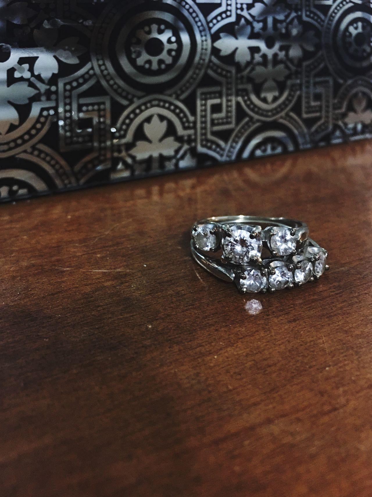 Grandma Aline's rings 🙏 Rip Vintage Frenchwoman Twin Flames Marriage  Love Antique No People 1945 Diamond Jewelry Truelove Beautiful Regalo De Mi Abuelo