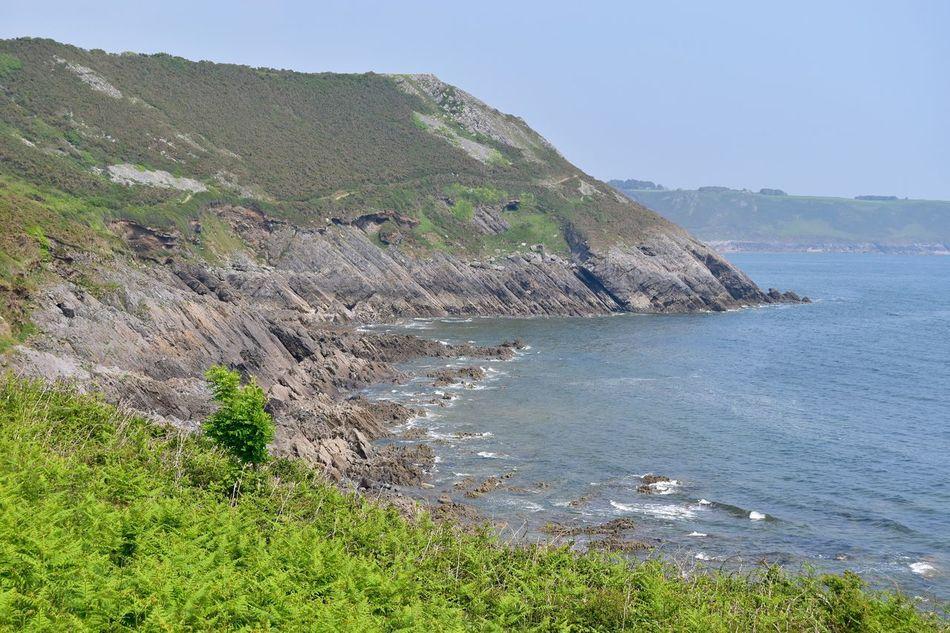 Taking Photos Sea Seaview Rocks Hillside Greenery Nikon D5500