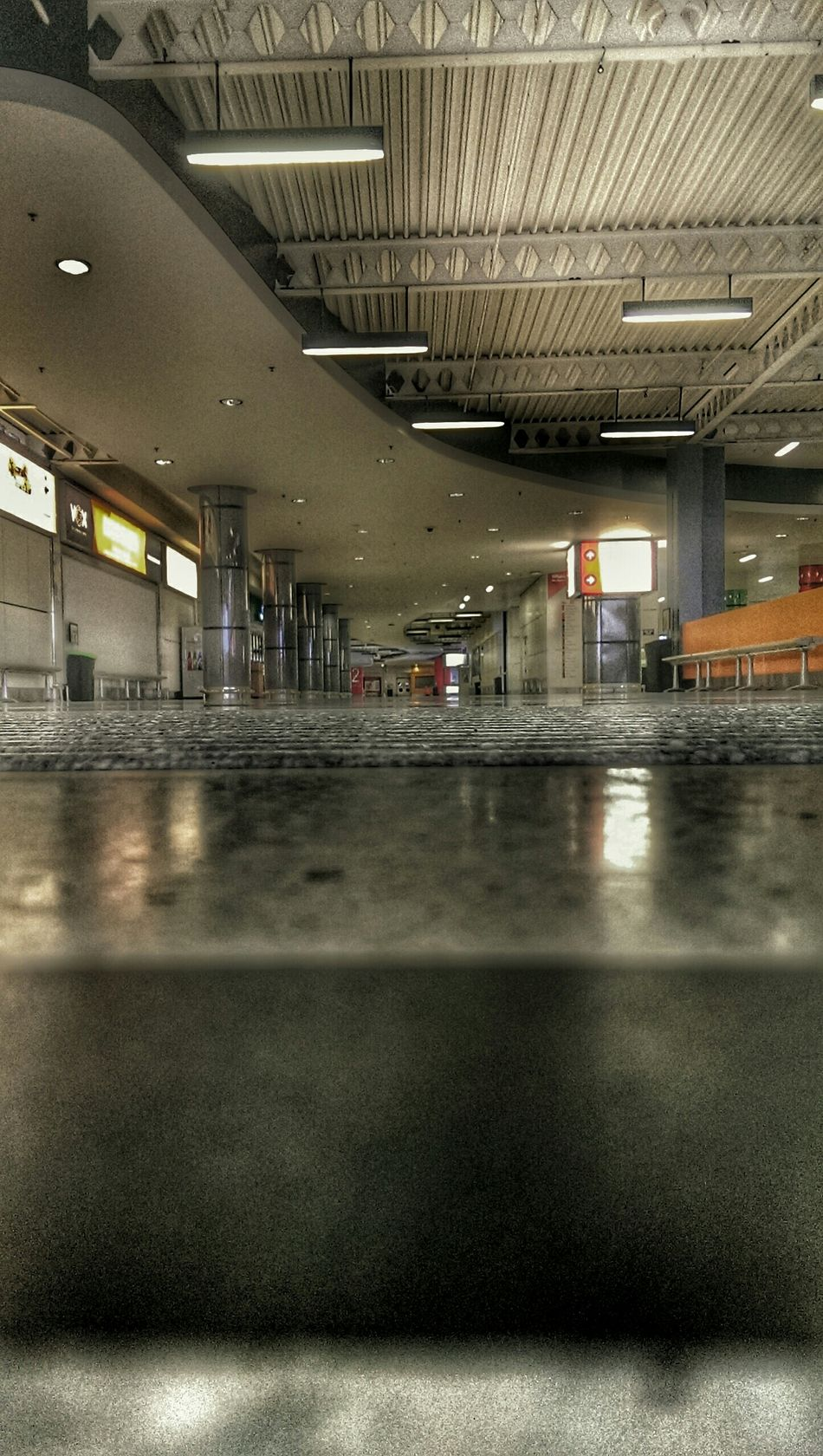 Wormseyeview Notes From The Underground From The Ground Up Hdr Edit Empty Places National Exhibition Centre Birmingham International Airport Networking Meeting Only Me
