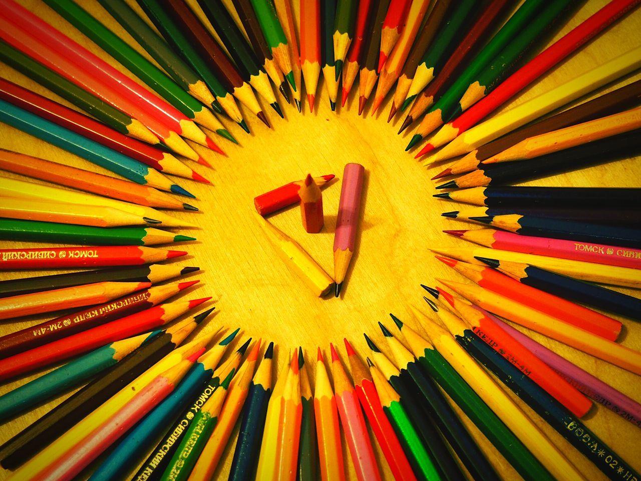 Multi Colored Pencil Pencil Sketch  Pencilcolors Colours Olympus Micro4/3 Mft Bright Bright Colors First Eyeem Photo