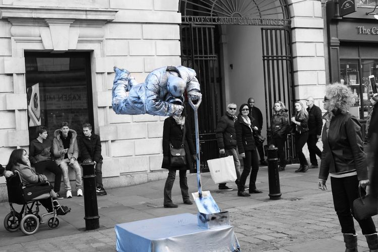 London Photoshop Streetphotography United Kingdom Unusual