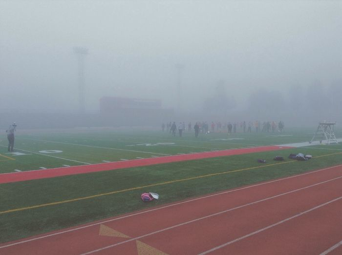 Melancholic Landscapes Morning marching band practice My Best Photo 2014