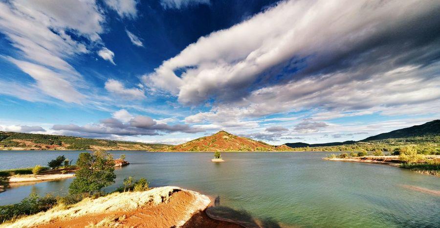Lac Du Salagou Lac Salagou Lake View Lake Nature Landscape Landscape_photography Panoramic Landscape Sky And Clouds EyeEm Gallery