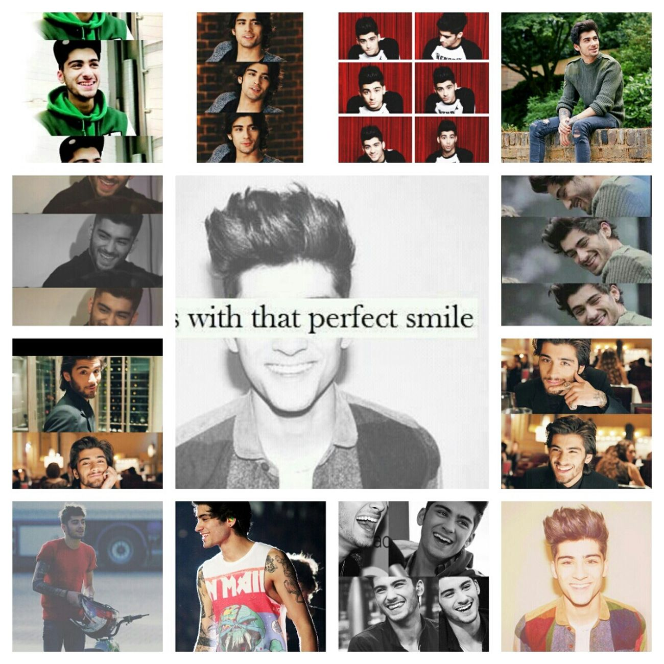 Guys with that perfect smile. Yoursmileistheperfection Zayn Jawaad Malik (: