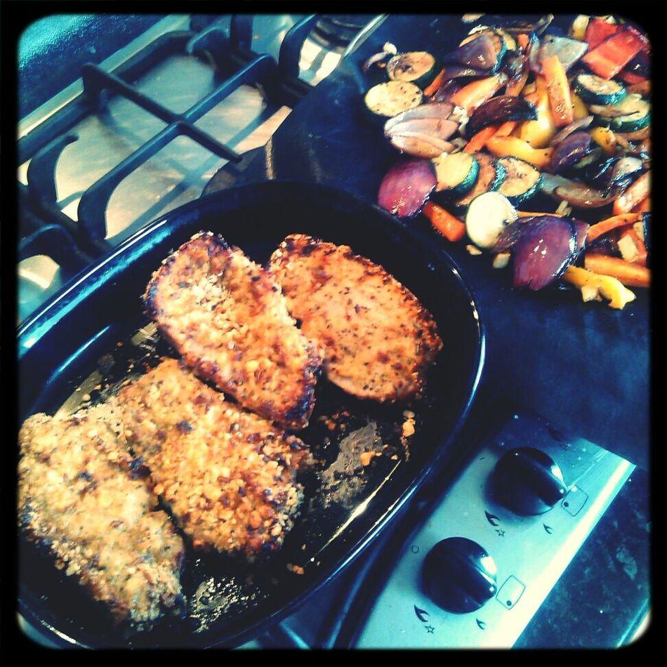 Pork Loin & Roast Vegetables