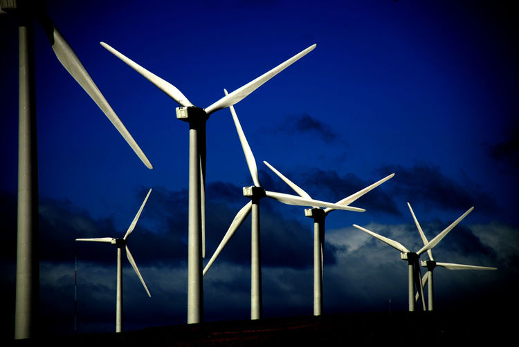 Green Knowles Alternative Energy Blue Environmental Conservation Fuel And Power Generation Industrial Windmill Nature No People Outdoors Power In Nature Renewable Energy Rural Scene Sky Technology Wind Power Wind Turbine Windmill