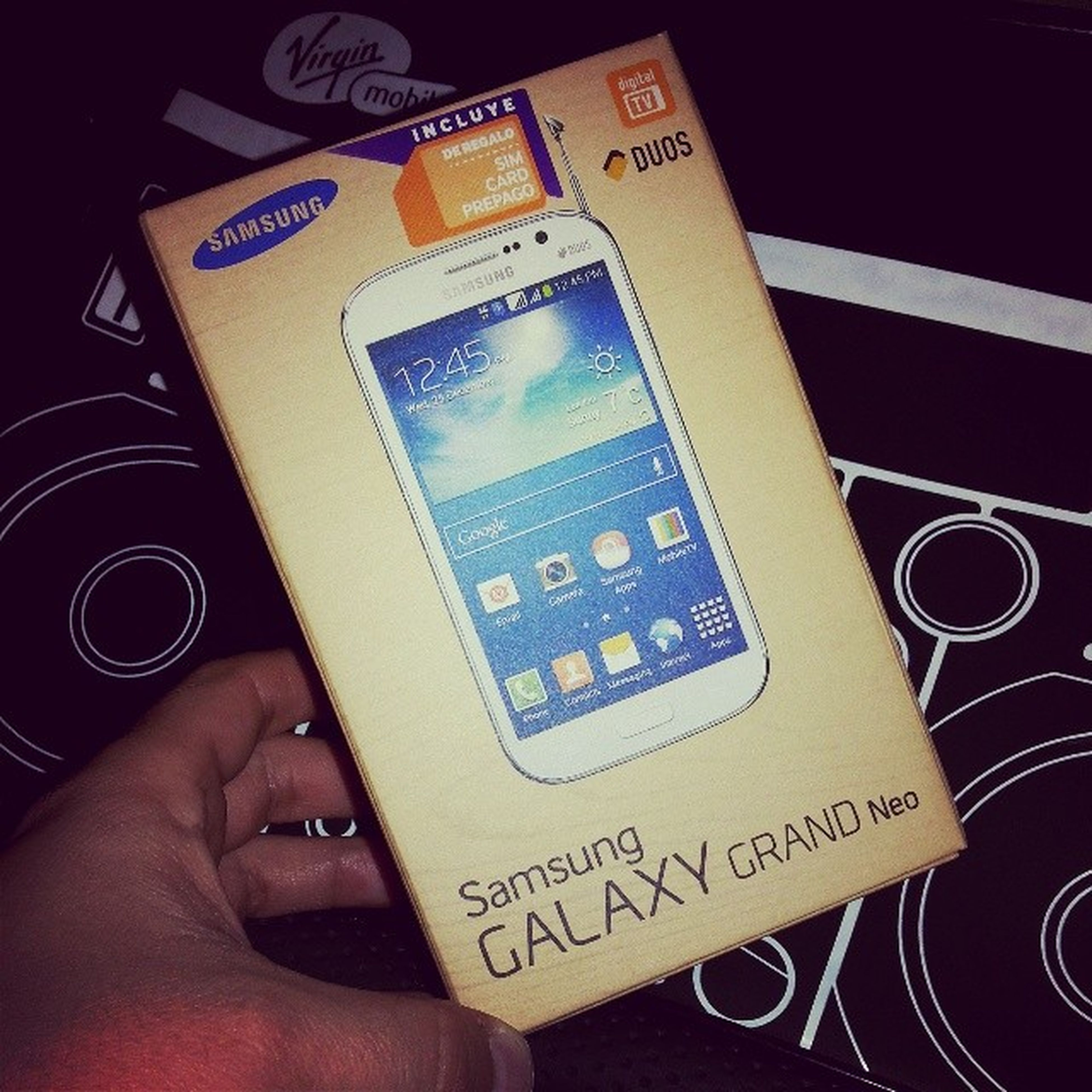 Nueva Adquisición SamsungGalaxyGrandNeo con TelevisionDigital