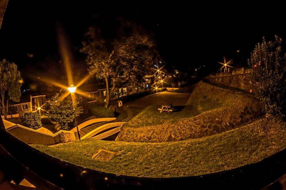 Night Illuminated Lawns Lawn And Garden Resorts No People Outdoors Hill Country Kodaikanal