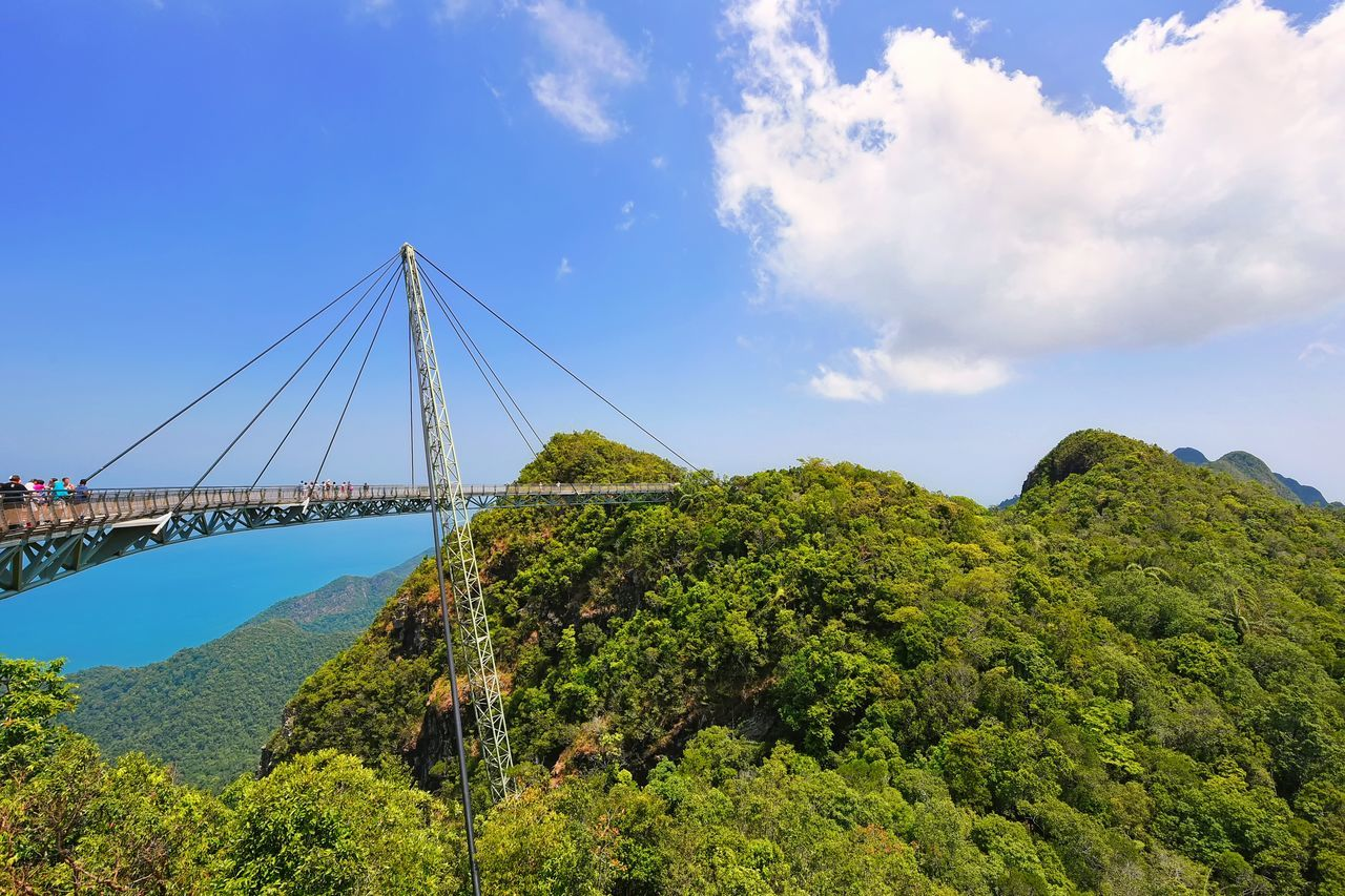 Amazing sky bridge in Langkawi Island, Malaysia The Great Outdoors - 2017 EyeEm Awards Sky Bridge Bridge Architecture Sky Nature Outdoors Mountain Freshness Top View Adventure Travel Destinations Business Travel Holiday Getty Images EyeEm Masterclass EyeEmbestshots EyeEmBestPics Langkawi Island Background Landscape Beauty In Nature Scenics Cloud - Sky