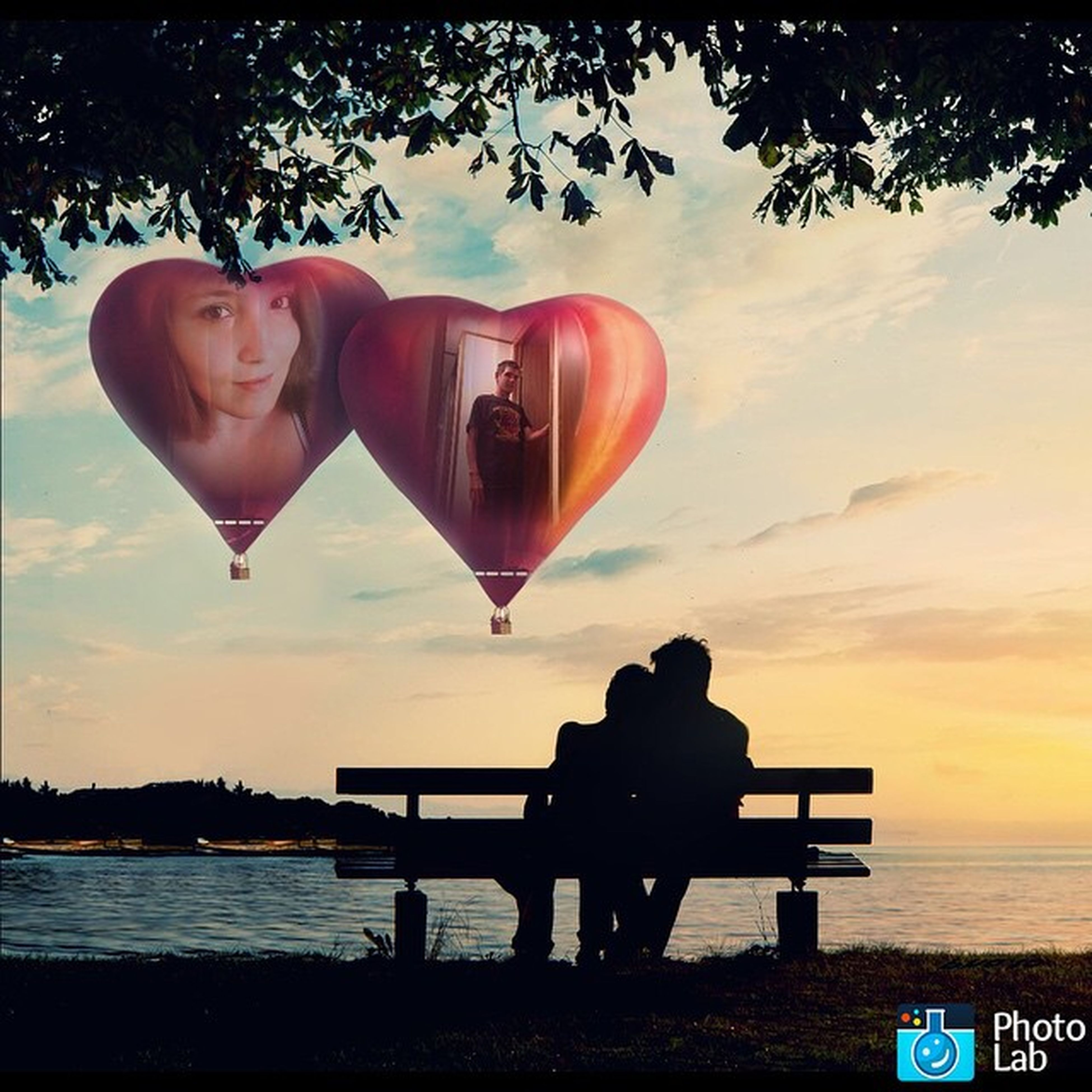My photo effect from Photo Lab app Photolab Heavenlylove Collage Collageart Photocollage Love Valentine Inlove Romantic Youandme
