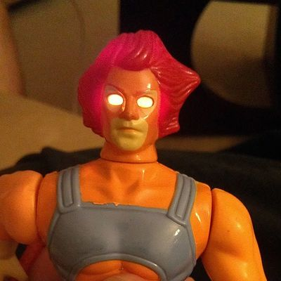 1985 Lion-O Thundercats with working light up eyes (from my personal collection)! Thundercats Liono 80stoys Ilovethe80s Collectibles 80schild Actionfigures Toys4life 80scartoons Ljn Toycommunity Vintagetoys Toycollector