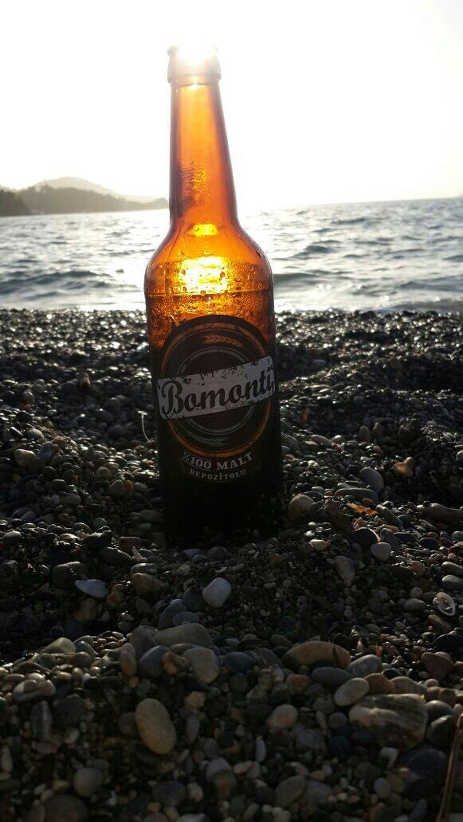 Bomonti Calisbeach Winter Holiday Enjoying Life Sunset #sun #clouds #skylovers #sky #nature #beautifulinnature #naturalbeauty Photography Landscape [a:20] i should ask for some money from Bomonti Beer :) Tadaa Community
