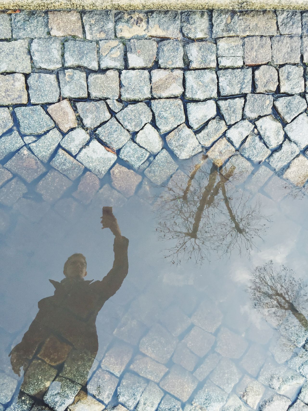 Puddleography Berlin Reflection