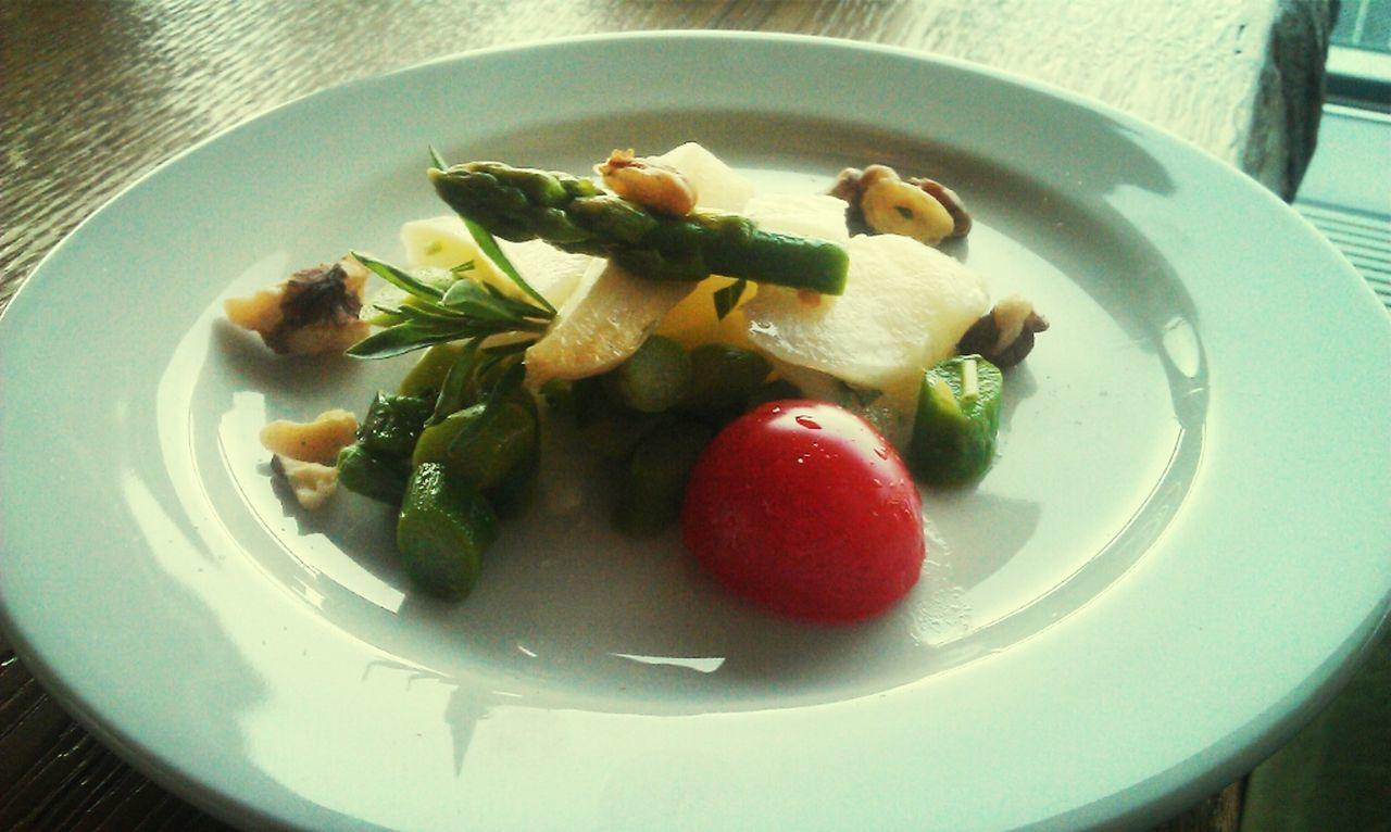 Brunch Spargelsalat Dachcafe