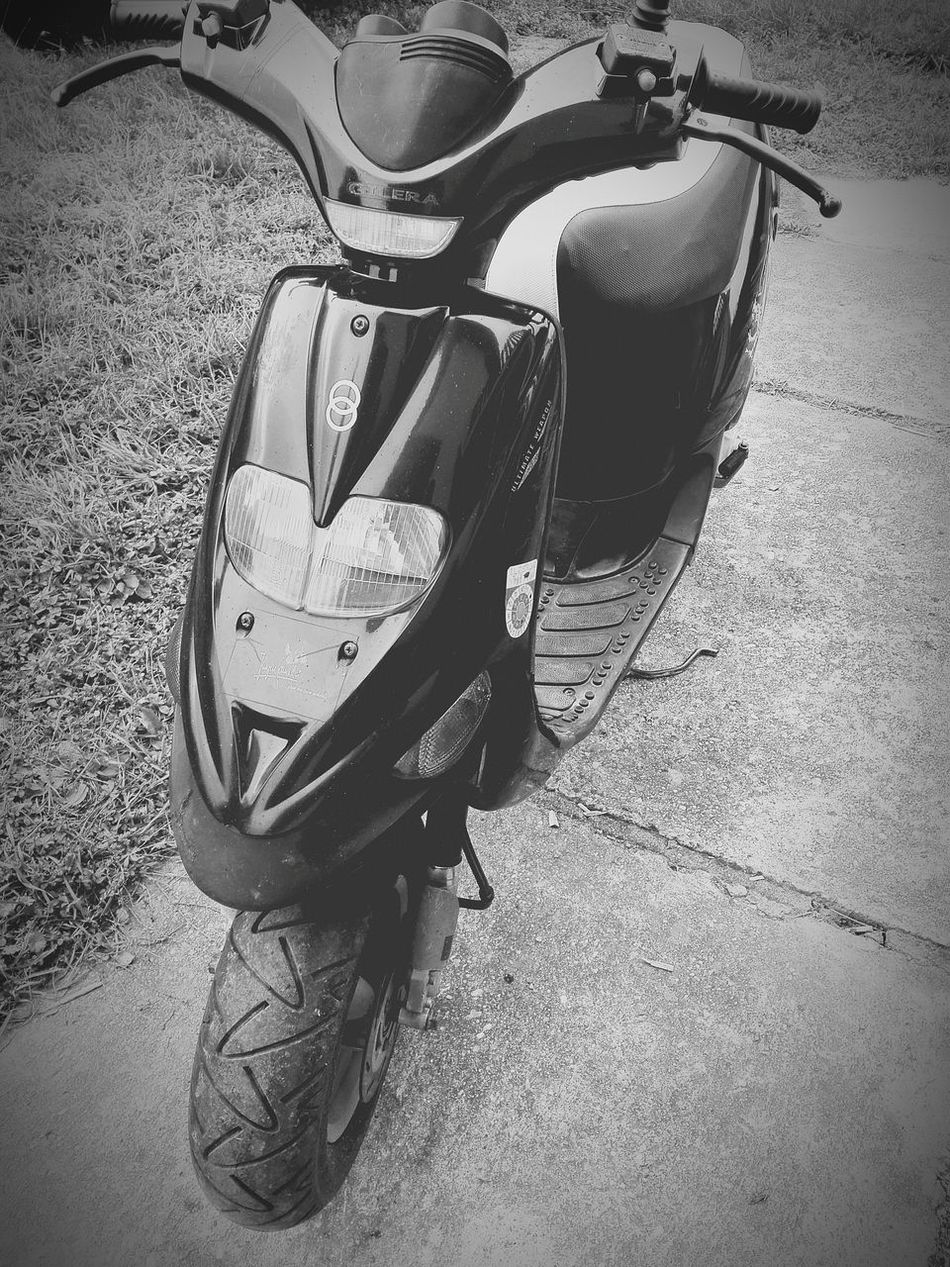Blackandwhite Black & White Black White Gilera Stalker Scooter Cold 50cc Ride Day Zala Hungary Earth