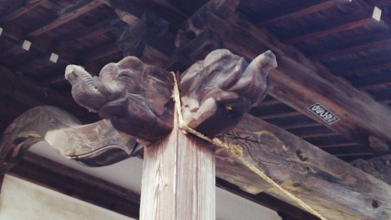 日光東照宮にもあったような。Castle Tatsuoka Saku