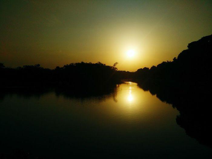 My Hobby Sunset Capturethenature Lakeview PhonePhotography Happyclicking Summerdays  OpenEdit