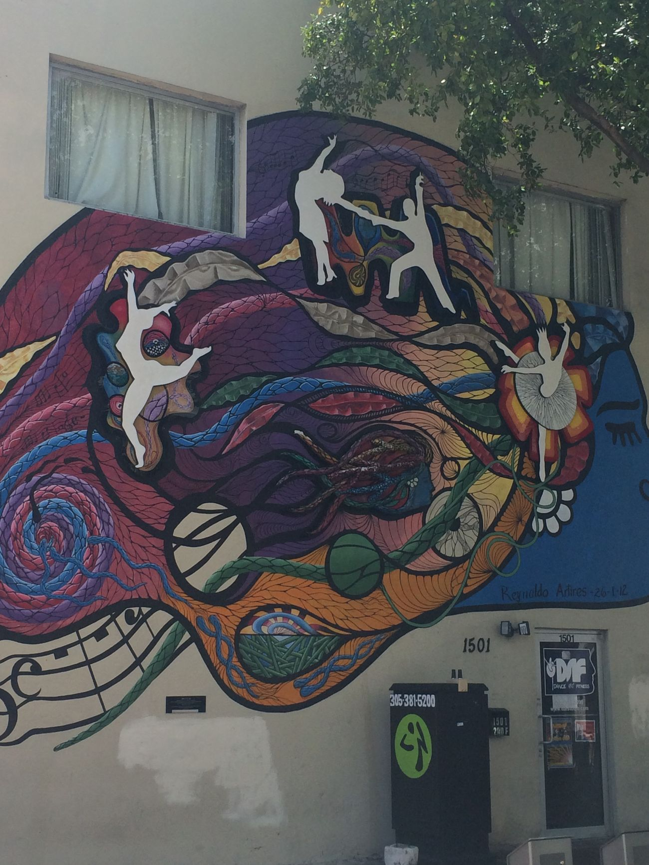 One of many wallpaintings in Little Havana