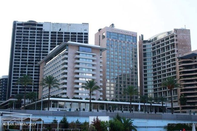 Hello World That's Me Relaxing Hi! Hotel Hotel View Beirut Lebanon Front View Building Buildings & Sky